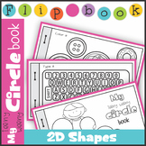 2D Shape Circle Flip Book Booklet