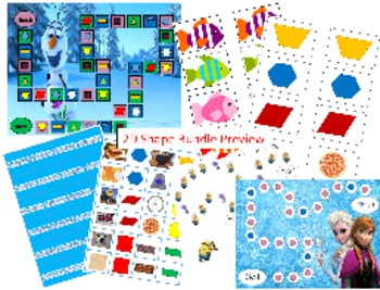 2D Shape Game Bundle