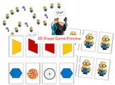 2D Shape Game: Despicable Me