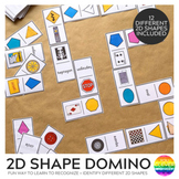 2D Shape Game - Domino Cards