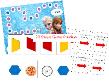 2D Shape Game: Frozen