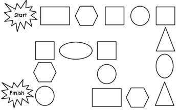 2D Shape Gameboard