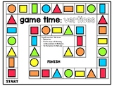 2D Shape Games (Names, Sides, Vertices)