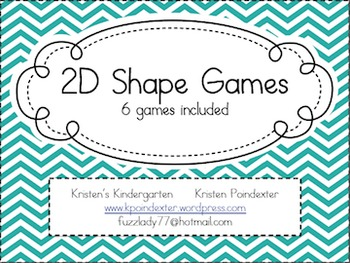 2D Shape Games Pack