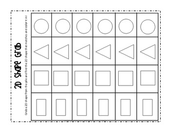 2D Shape Games for Kindergarten