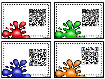 2D Shape Identification using QR Code with Voice Recording