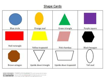 2D Shapes Lesson Plans