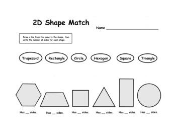 2D Shape Match