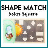 2D Shape Matching Activity - Space Theme