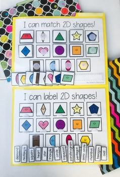 2D Shape Matching and Labelling