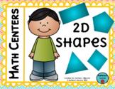 2D Shape Math Centers