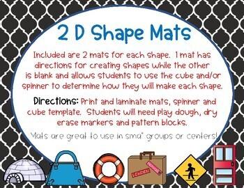 2D Shape  Mats