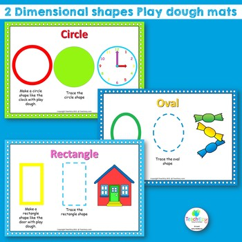 2D Shape Mats Teaching Resource