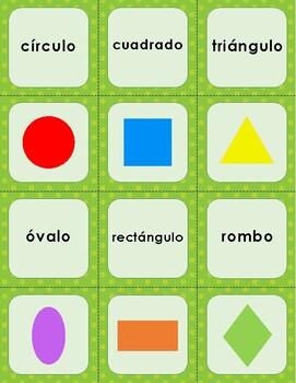 2D Shape Memory - English and Spanish