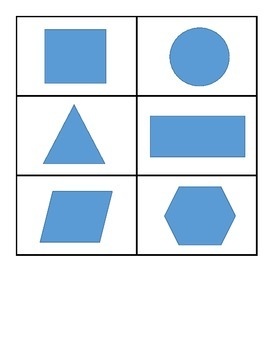 2D Shape Memory Game