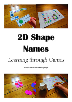 2D Shape Names - Learning through Games