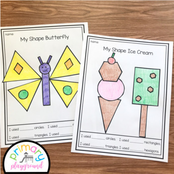 2D Shape Picture Crafts Holidays and Seasons