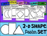 2D Shape Poster Set (Half Page)