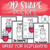 2D Shape Posters with and without attributes