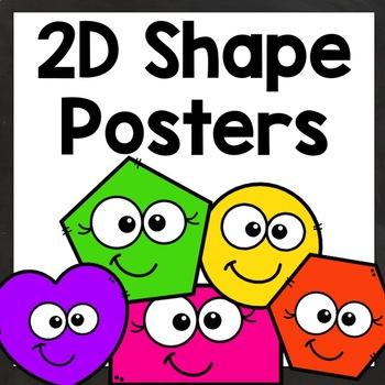 2D Shape Posters