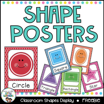 2D Shape Posters (A4)