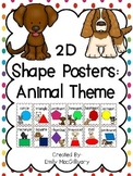 2D Shape Posters: Dog Theme