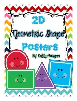 2D Shape Posters - CHEVRON