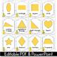 2D Shape Posters EDITABLE, Pineapple Classroom Decor, Pineapple Theme