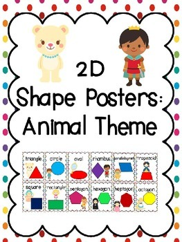 2D Shape Posters: Fairy Tale Theme