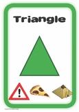 2D Shape Posters - K-2 shape signs