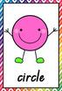 2D Shape Posters QLD Beginners Font