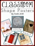 2D Shape Posters {featuring real life pictures}