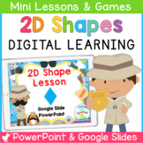 2D Shape PowerPoint and Smartboard