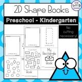 Shape Worksheets - Activity Books for Preschool - First Grade