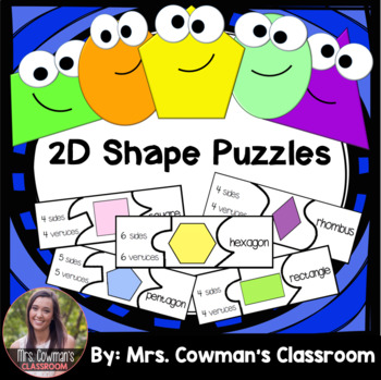 2D Shape Puzzles