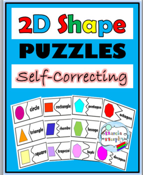 2D Shape Puzzles – Self-Correcting
