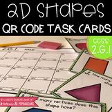 2D Shape QR Code Task Cards