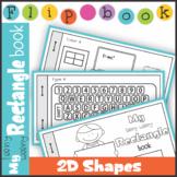 2D Shape Rectangle Flip Book Booklet