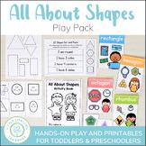 2D Shape Activity Pack - Includes 2D Shape Posters!