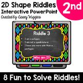 2D Shape Riddles Interactive PowerPoint