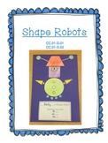 2D Shape Robots