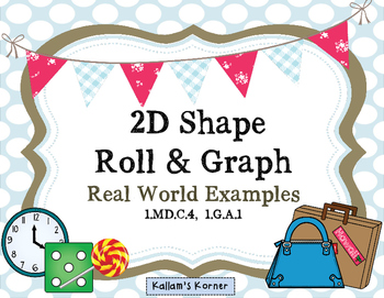 2D Shape  Roll & Graph