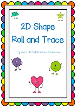 2D Shape Roll and Trace