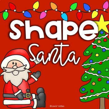 Christmas 2D Shape Santa