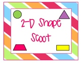 2D Shape Scoot Review Game
