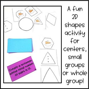 2D Shape Center Activity