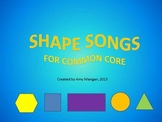 2D Shape Songs & Posters