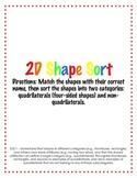 2D Shape Sort