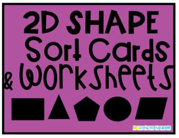 2D Shape Sort Center