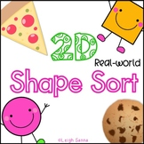 2D Real World Shape Sort Cut & Paste